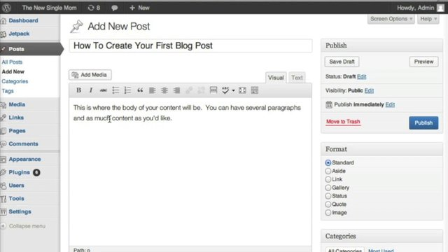 create-wordpress-blog-post