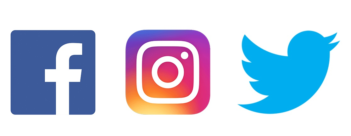 facebook-twitter-instagram-logos